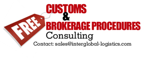 Customs Brokerage consulting